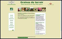 Miniature site Graines de terroir