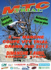 Coupe VTT Trial Montauban